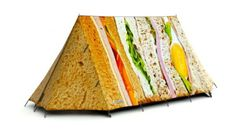Sandwich tent from FieldCandy