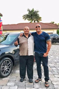 Dwayne Johnson Surprises His Dad With a Car, Shares a Painful Story About His Childhood
