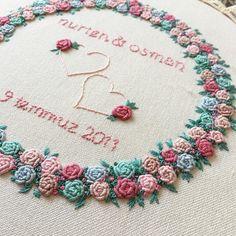 "Yasemin on Instagram: "" #embroidery #embroideryart #embroiderydesign #kurdelenakisi #brezilyanakisi #ceyizhazirligi #ceyizonerileri #nisantepsisi #nisanlik…"""
