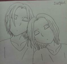 Leitpol~that I drew ,I ship it too much~ XD ❤