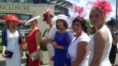Day one at Royal Ascot and the sun is shining as the elegantly dressed ladies and top-hatted gentlemen arrive.