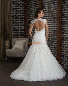 Open back wedding dress with sweetheart neckline 309 - Bonny - Collections Wedding Dresses 2014, Wedding Dress Styles, Wedding Attire, Bridal Dresses, Bonny Bridal, Open Back Wedding Dress, Tulle, Most Beautiful Dresses, Dream Dress