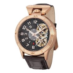 Gold watches : Gold watches men Stuhrling Original
