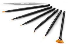 #basic #nailart #tools #nailart #brushes