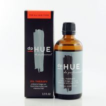dpHUE oil treatment, makes your hair gorgeous; Our unique hair oil recaptures shine and moisture without weighing down hair. Tames frizz and refreshed tired ends. Protects from UV color fade and brings strength to overworked, dull or damaged hair. $30