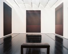 Artworks by Mark Rothko at Houston's Menil Collection