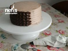 Ganaj Kaplı Yaş Pasta - Nefis Yemek Tarifleri Cake, Desserts, Food, Tailgate Desserts, Deserts, Kuchen, Essen, Postres, Meals