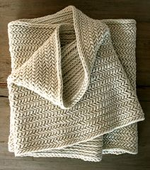 Ravelry: Big Herringbone Cowl pattern by Purl Soho