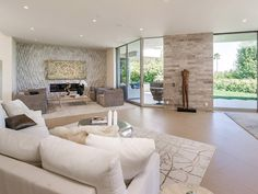 1161 Shadow Hill Way, beverly Hills Property Listing: MLS® Beverly Park, Beverly Hills Hotel, Led Apple, Linear Fireplace, Expensive Houses, Mansions Homes, Celebrity Houses, Property Listing, Master Suite