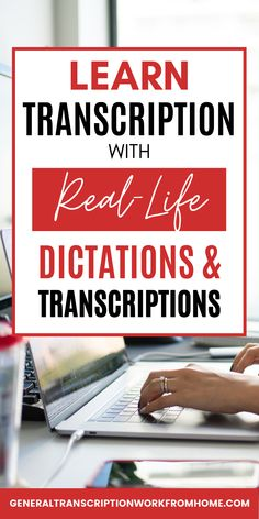 Don't know how to learn general transcription? How do you get transcription experience so you can get transcription jobs? Practicing transcription with transcription practice files is a great way to learn transcription, become familiar with transcription, software and foot pedal, pass transcription employment tests and get your first transcription job. Typing Jobs From Home, Online Typing Jobs, Online Side Jobs, Best Online Jobs, Transcription Jobs From Home, Transcription Jobs For Beginners, Work From Home Moms, Make Money From Home, How To Make Money