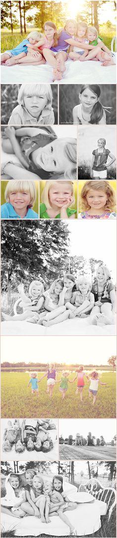"Laurel+Ella+Audrey+Minnie+Joel Norman aka ""bubba"" Montgomery, Alabama Children's Photographer Cousin Pictures, Great Pictures, Taking Pictures, Surprise Pictures, Picture Ideas, Photoshop Photography, Creative Photography, Children Photography, Family Portraits"