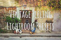 Vintage Feeling LR Presets by capturemonkey on Creative Market
