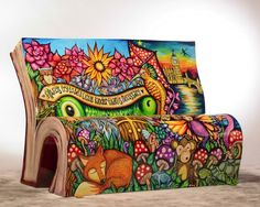 Fall in love with BookBenches! by  Cecilia Di Marzo http://www.archilovers.com/stories/6340