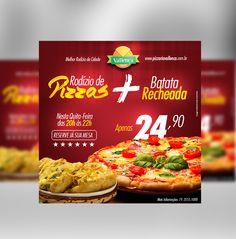 Job: Mídia Digital | Cliente: Pizzaria Vallença | Software: Photoshop CS6.