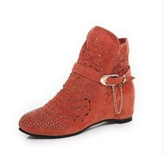 $47.93 (Buy here: https://alitems.com/g/1e8d114494ebda23ff8b16525dc3e8/?i=5&ulp=https%3A%2F%2Fwww.aliexpress.com%2Fitem%2FENMAYER-Big-size-34-43-Women-Boots-Sexy-Round-Toe-Wedges-Platform-boots-Tassel-Cut-Outs%2F1896447181.html ) ENMAYER Big size 34-43 Women Boots Sexy Round Toe Wedges Platform boots Tassel Cut-Outs Boots, Spring / Autumn women Ankle boots for just $47.93