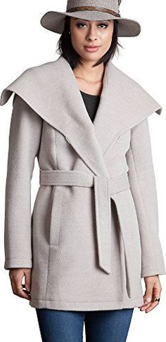 The Bianca dresses you in easy chic for work, evenings, or casual weekends. A premium blend of baby alpaca and wool make this elegant coat soft and warm. The single button fastens the cozy, oversized collar, while the matching tie belt gently fastens the front for a flattering design. 72% Baby...  More details at https://jackets-lovers.bestselleroutlets.com/ladies-coats-jackets-vests/wool-pea-coats/product-review-for-overland-sheepskin-co-bianca-peruvian-alpaca-wool-blend-c
