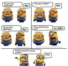 Funny Minion Cartoon Strip MEME and LOL. enjoy the best minions memes and pics from the internet Funny Minion Cartoon Strip MEME and LOL Minion Humour, Minions Cartoon, Minion Jokes, Minions Love, My Minion, Minions Quotes, Funny Minion, Minion Candy, Minion Things