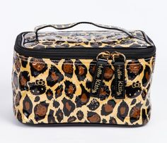 Hello Kitty Make-Up Case: Leopard