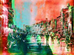 'Italian streetlife' von Gabi Hampe bei artflakes.com als Poster oder Kunstdruck $20.79