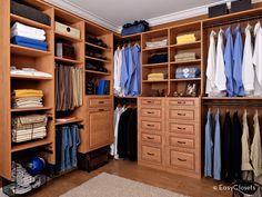 Men's Closet Organization Tips: organizing ideas for menswear!