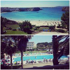 Las #vacaciones de Angelines en #Menorca, #Baleares