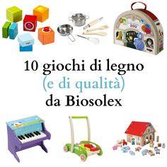 10 giochi di legno (e di qualità) da Biosolex