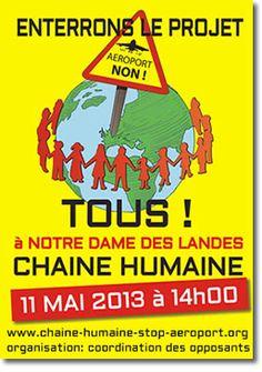 Chaîne humaine le 11 mai 2013 à #NDDL