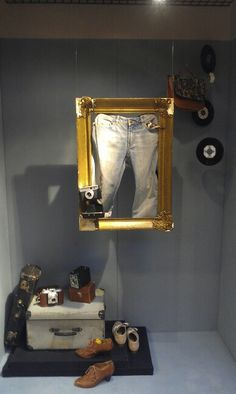 Etalage Jeans