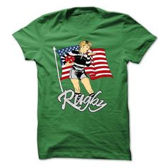 Awesome Football Lovers Tee Shirts Gift for you or your family member and your friend:  RUGBY GIRL Tee Shirts T-Shirts