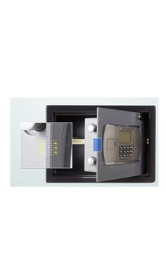 Hotel safe Size: The hotel safe will sound alarm in case of being struck. Enter the correct passwords to lift the alarm. Safes For Sale, Safe Deposit Box, Hotel Safe, China, Cabinet, Home, Design, Jelly Cupboard, House