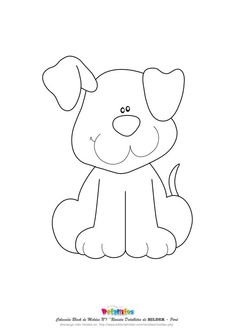 Puppy – one ear up