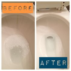 Tough Toilet Cleaning! Tips for getting rid of tough stains in the toilet!