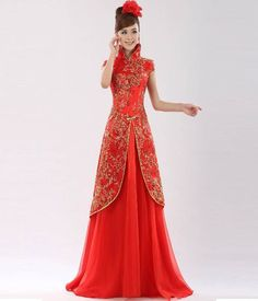 Traditional Chinese Wedding Dress | Women Dress Ideas