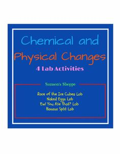 lab 8 chemical and physical Experiment 3: identification of a substance by physical properties  as either physical properties or chemical  you will study in organic chemistry laboratory .