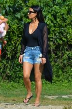 Kim Kardashian Hamptons July 3 2014