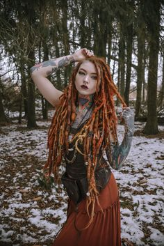 Hair Tattoo Girl Elegant 90 Best Y Viking Women This Week Tattoo Girls, Hair Tattoo Girl, Hair Tattoos, Red Dreads, Dreads Girl, Dreadlock Hairstyles, Girl Hairstyles, Gypsy Hairstyles, Fashion Hairstyles