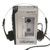 @Lisa Findlay had a REAL Sony Walkman pretty much like this one!! mine was a knock off - it was red : ) and actually so was my camera!  btw - nice headphones! they remind of a drain stopper