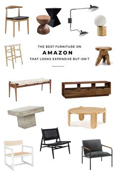 home accents on a budget The best furniture on Ama - Amazon Home Decor, Home Decor Items, Affordable Furniture, Cool Furniture, Handmade Furniture, Furniture Design, 3d Design, Spring Home Decor, Patio Chairs