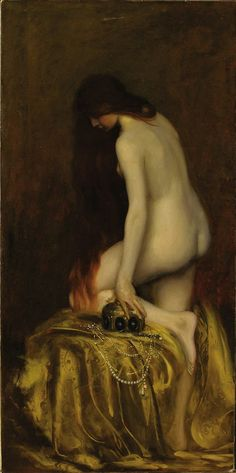 Jean Jacques Henner,  Salome.