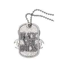 Black Veil Brides Legion Dog Tag Necklace | Hot Topic ($11) ❤ liked on Polyvore featuring jewelry, necklaces, accessories, bands, black veil brides, bridal jewellery, kohl jewelry, black pendant, black necklace and bridal jewelry