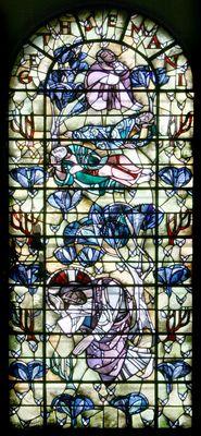 Lambertuskerk Kerkrade           Christus in het Hof van Gethsemani  (1960)