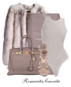"""Chic"" by romaritasenorita ❤ liked on Polyvore featuring 32 Paradis Sprung Frères, Jitrois, Alaïa, Hermès, women's clothing, women, female, woman, misses and juniors"