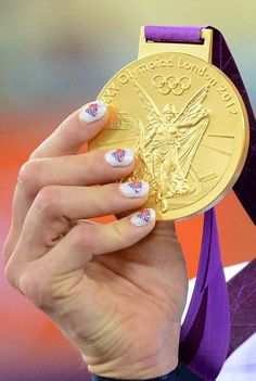 Nail Art-cycling superstar Victoria Pendleton