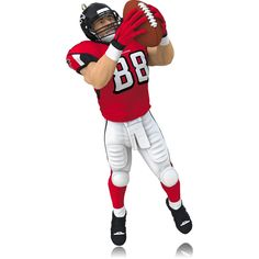 Hallmark 2014 Tony Gonzalez Atlanta Falcons Ornament * To view further, visit now : Ornaments Home Decor