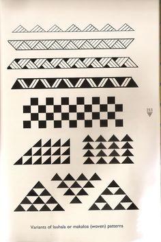 Traditional Hawaiian woven patterns for tattoos; typically symbolize women and w. - Traditional Hawaiian woven patterns for tattoos; typically symbolize women and women's work - Maori Tattoos, Maori Tattoo Frau, Armband Tattoos, Hawaiianisches Tattoo, Filipino Tattoos, Marquesan Tattoos, Samoan Tattoo, Tattoo Motive, Fijian Tattoo