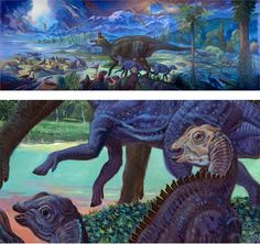 William Stout's murals for the San Diego Natural History Museum