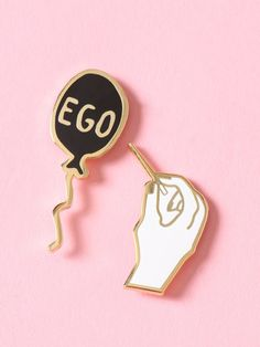 Pop Your Ego Enamel Pin Pack - Gypsy Warrior