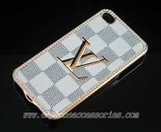 louis vuitton 4s. designer louis vuitton iphone 4 case 4s - white damier 3 4s