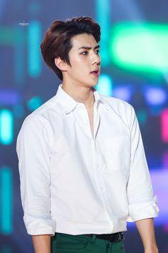 25th High1 Seoul Music Awards 160114 : Sehun (1/7)