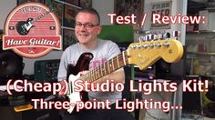 Test/Review: Studio lights kit (Three-point lighting)